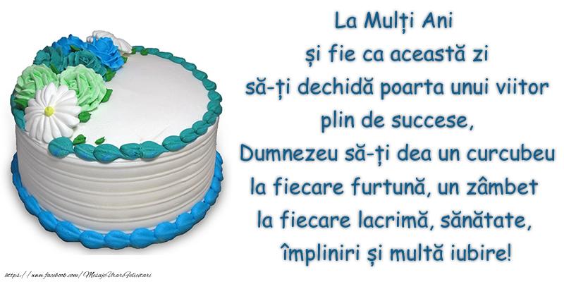 Felicitari aniversare De Zi De Nastere - La Mulți Ani și fie ca această zi ...