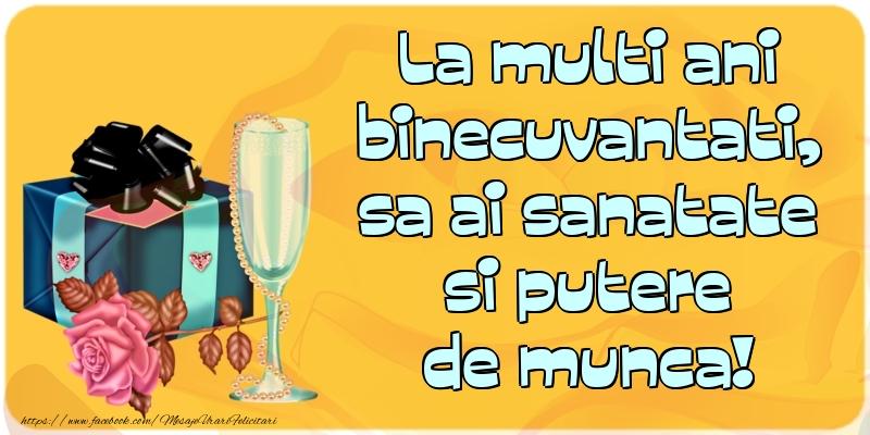 Felicitari aniversare De Zi De Nastere - La multi ani binecuvantati ...