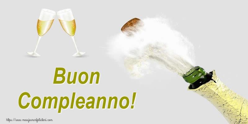 Felicitari Aniversare in limba Italiana - Buon Compleanno!
