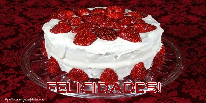 Felicitari Aniversare in limba Spaniola - Felicidades!