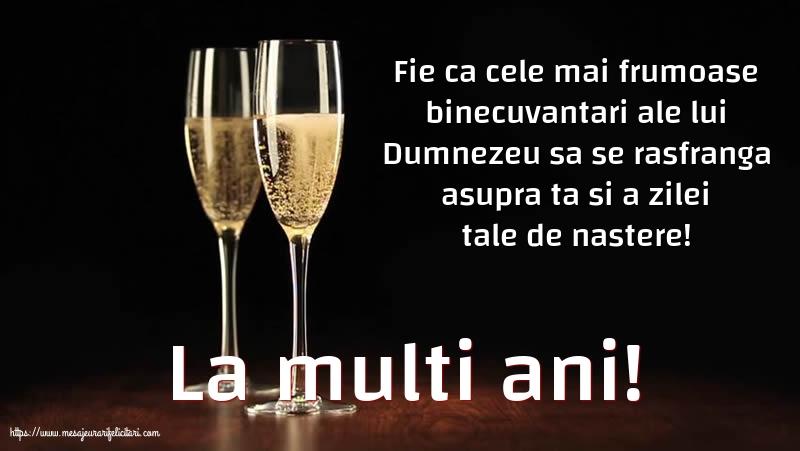 Felicitari aniversare De Zi De Nastere - La multi ani!