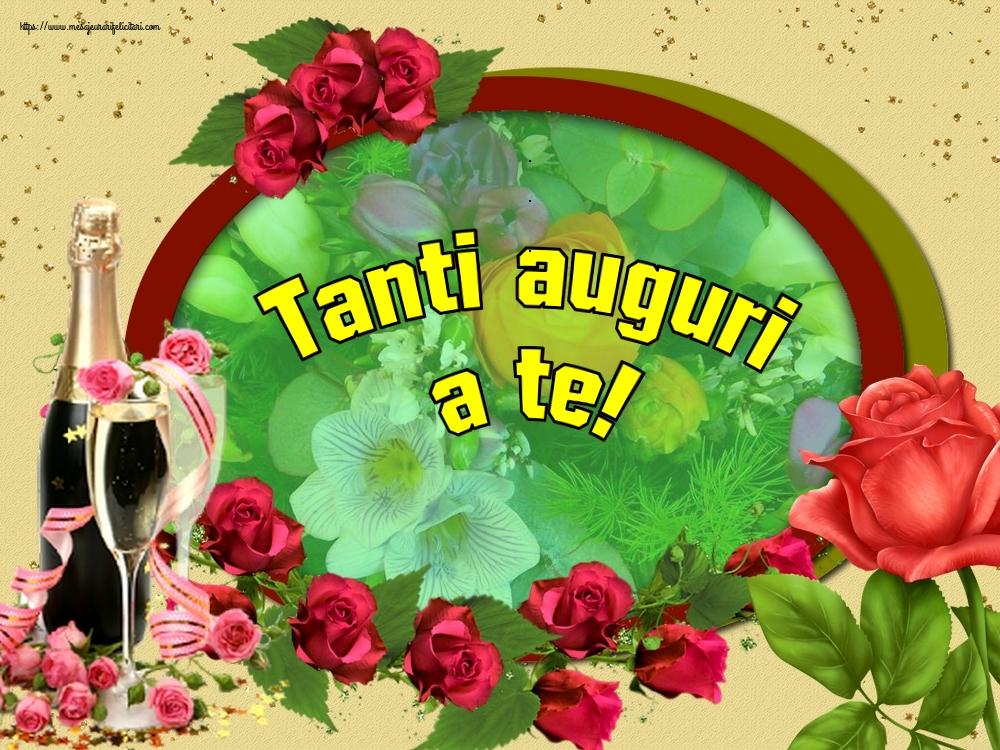 Felicitari Aniversare in limba Italiana - Tanti auguri a te!