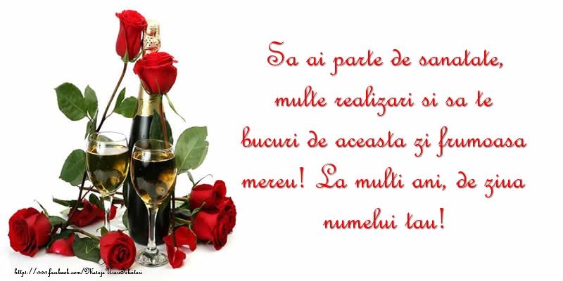 Felicitari aniversare De Ziua Numelui - La multi ani, de ziua numelui tau!