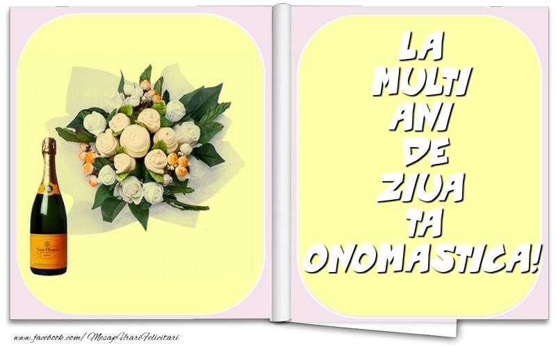 Felicitari aniversare De Ziua Numelui - La multi ani de ziua ta onomastica!