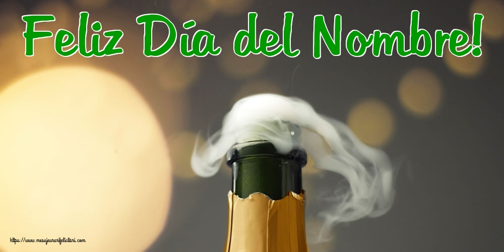Felicitari Aniversare in limba Spaniola - Feliz Día del Nombre!