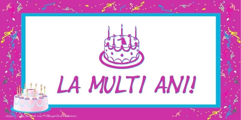 Tort 1 an La multi ani!