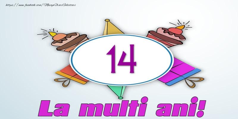 14 ani La multi ani!