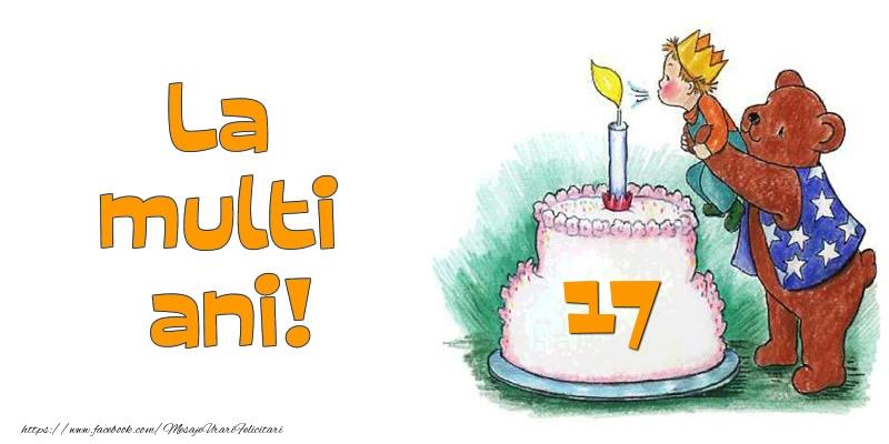 La multi ani! 17 ani