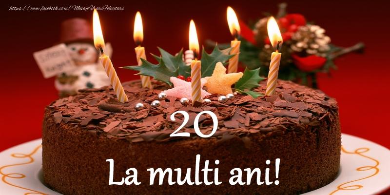 20 ani La multi ani!