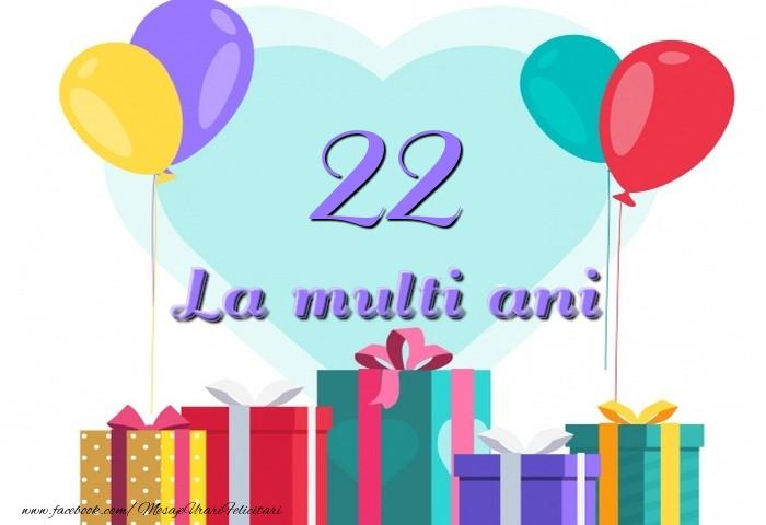 22 ani