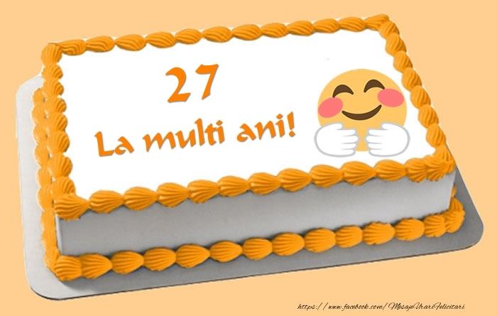 Tort La multi ani 27 ani!