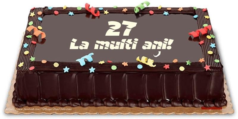 Tort 27 ani La multi ani!