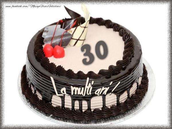 La multi ani 30 ani