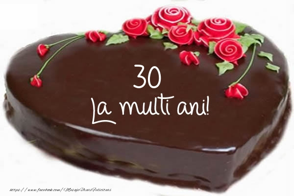 30 ani La multi ani!