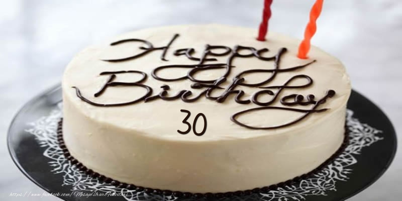Happy Birthday 30 ani