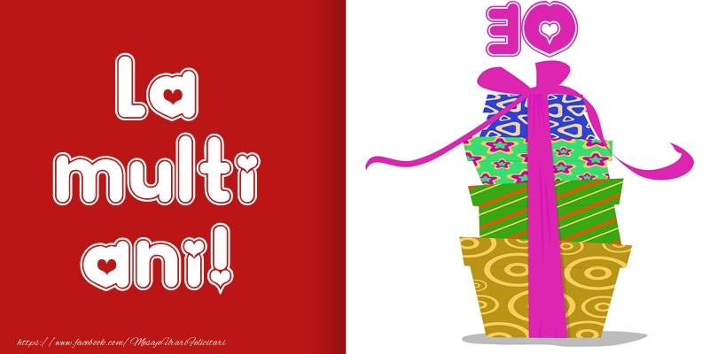 La multi ani! 30 ani