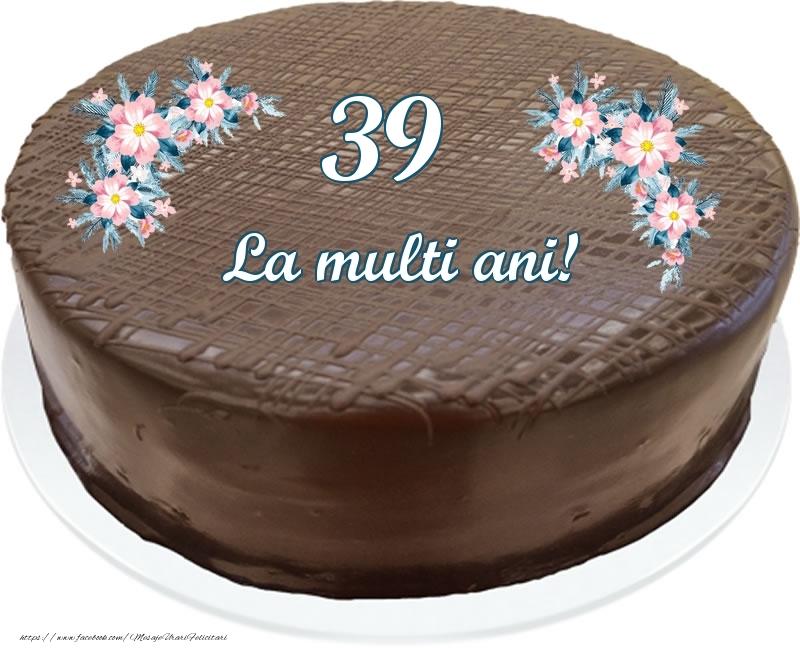 39 ani La multi ani! - Tort