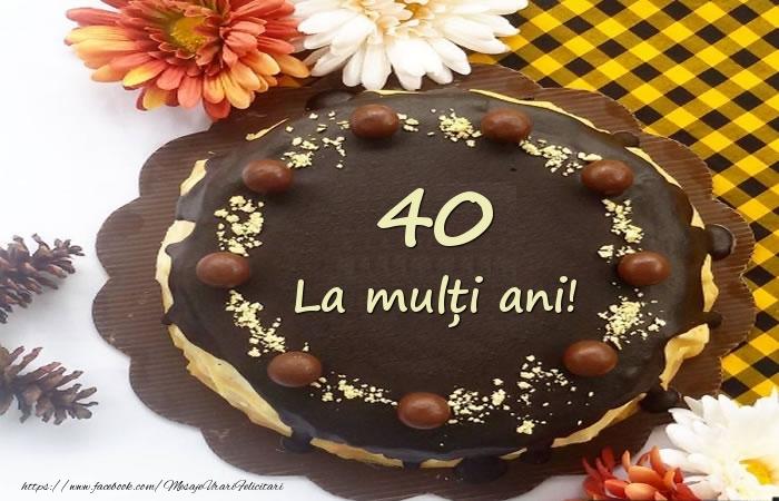 La multi ani,  40 ani!