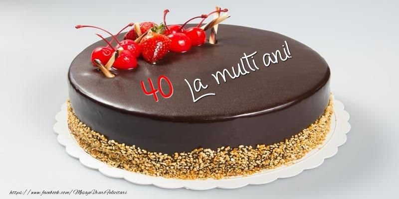Tort - 40 ani La multi ani!