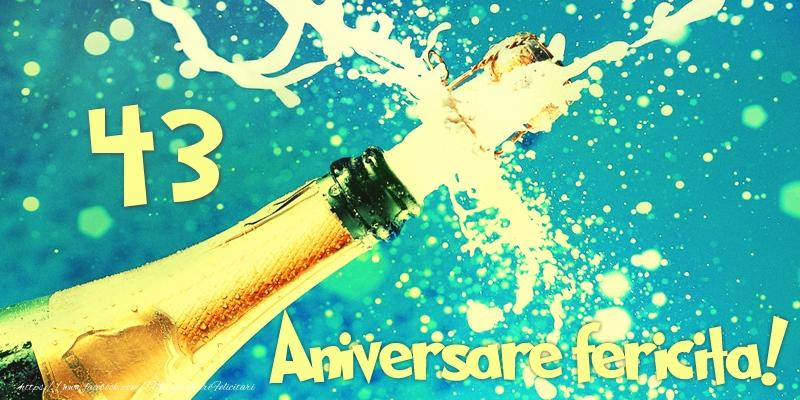 43 ani Aniversare fericita!