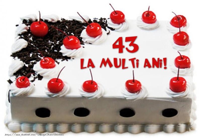 Tort 43 ani La multi ani!