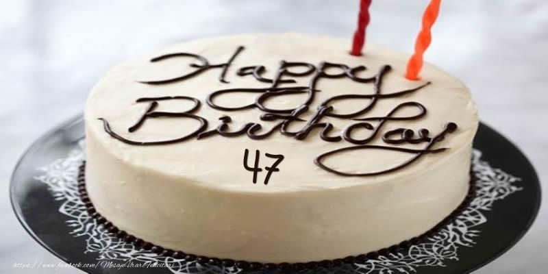 Happy Birthday 47 ani