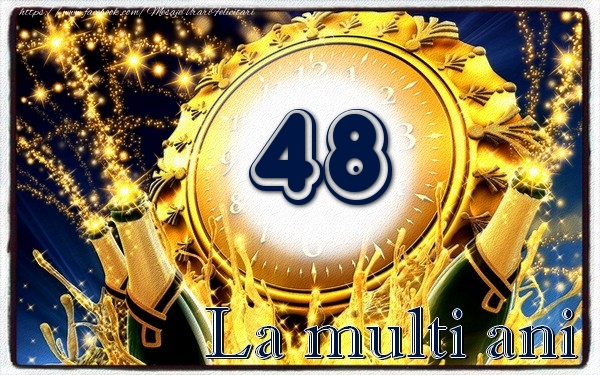48 ani La multi ani