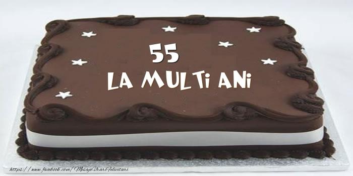 Tort La multi ani 55 ani
