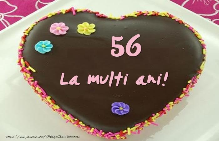 56 ani La multi ani! Tort