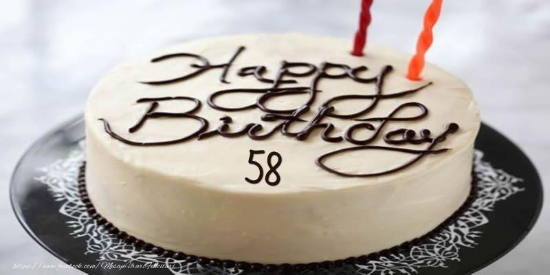 Happy Birthday 58 ani