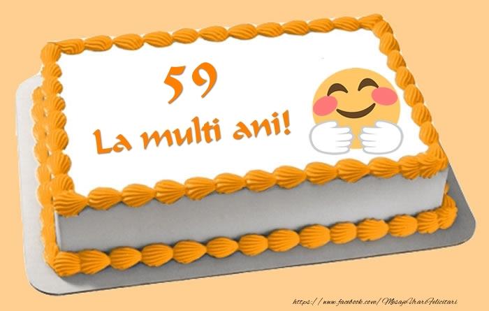 Tort La multi ani 59 ani!