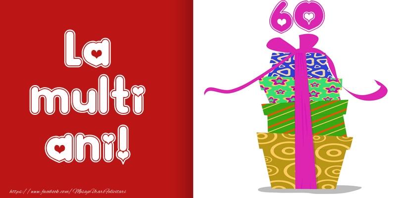 La multi ani! 60 ani