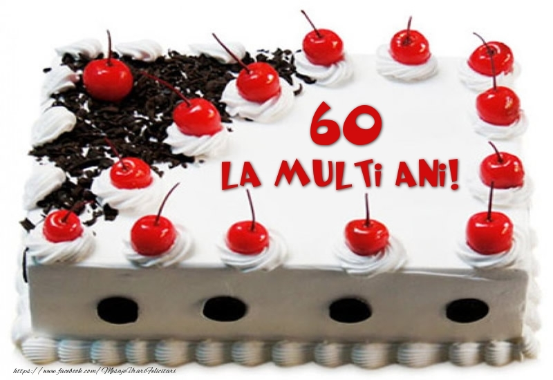 Tort 60 ani La multi ani!