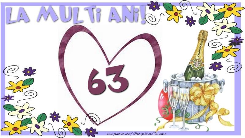 La multi ani 63 ani