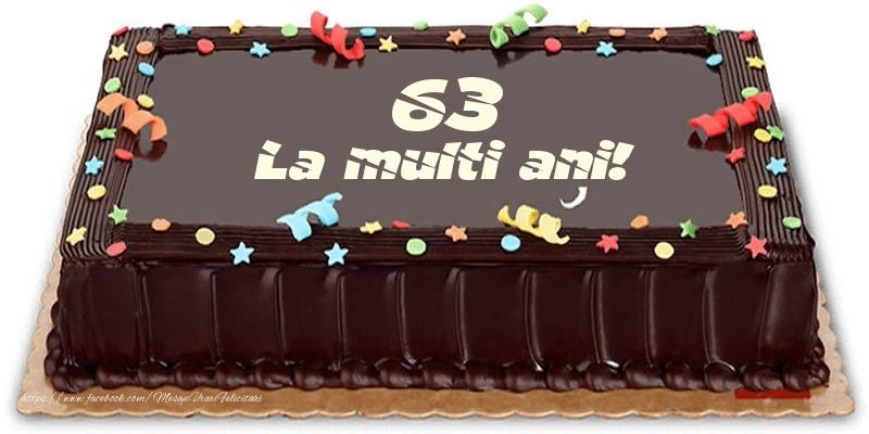 Tort 63 ani La multi ani!