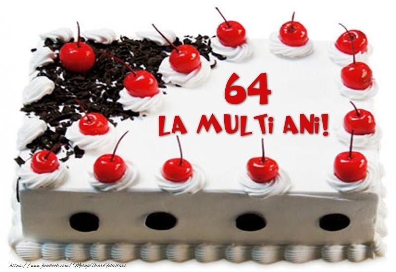 Tort 64 ani La multi ani!