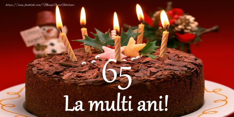 65 ani La multi ani!