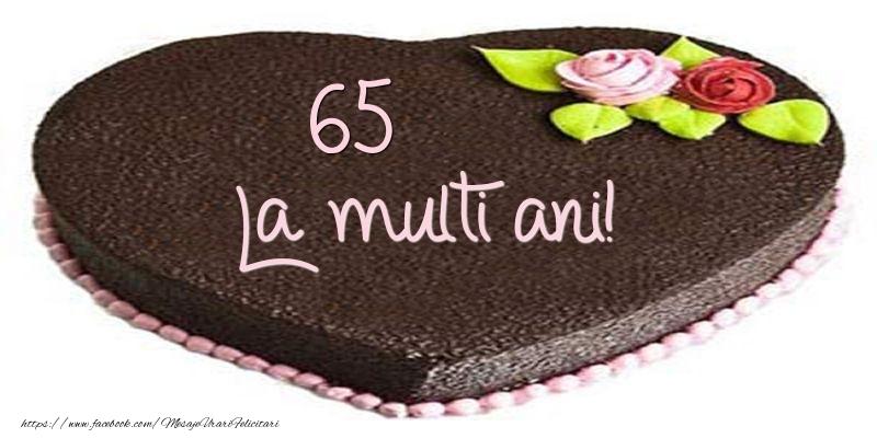 65 ani La multi ani! Tort