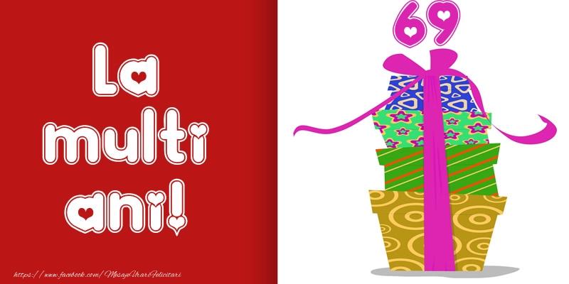 La multi ani! 69 ani