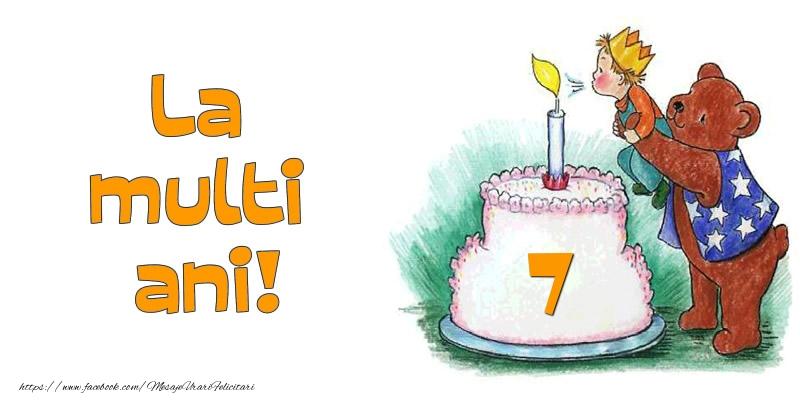La multi ani! 7 ani