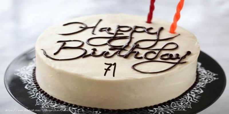Happy Birthday 71 ani