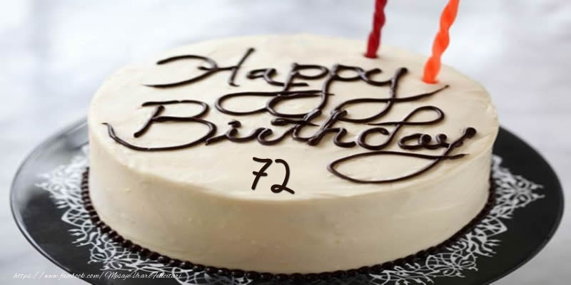 Happy Birthday 72 ani