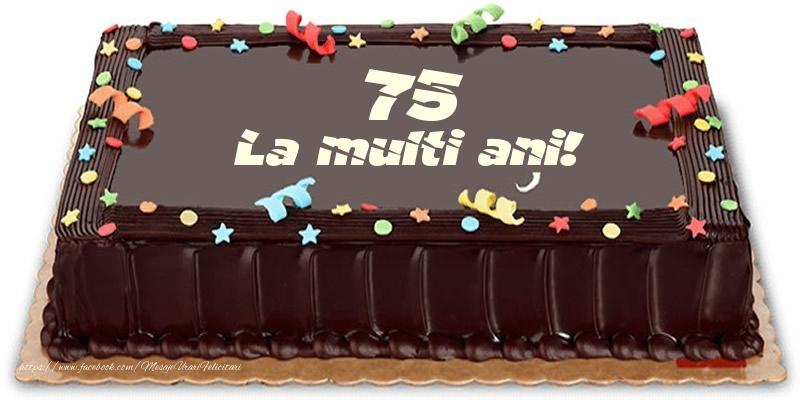 Tort 75 ani La multi ani!