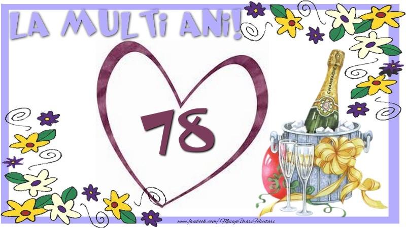 La multi ani 78 ani