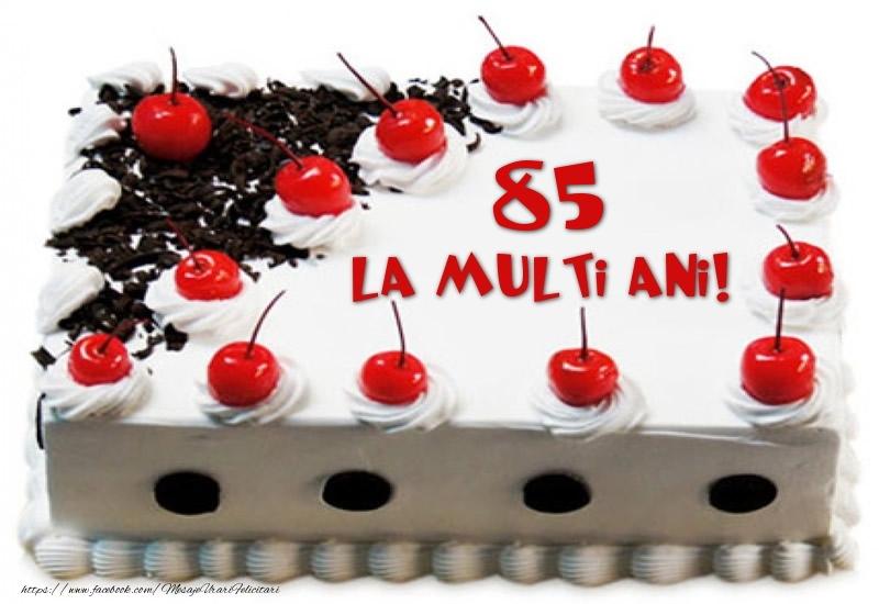 Tort 85 ani La multi ani!