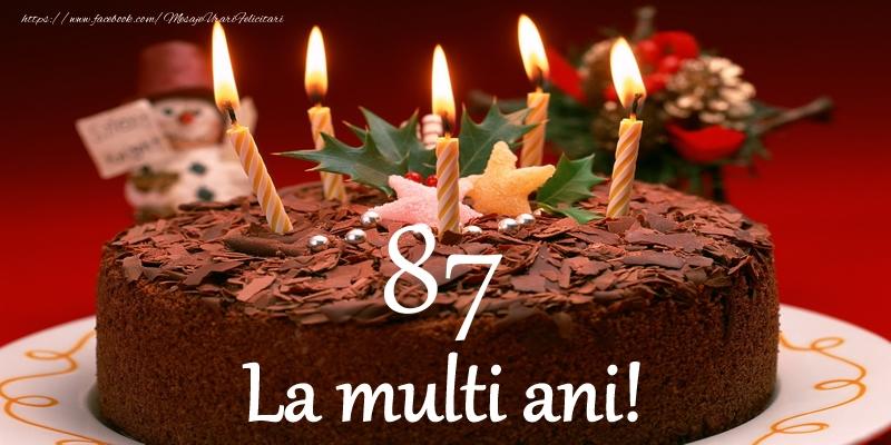 87 ani La multi ani!