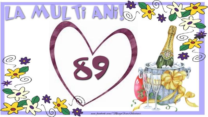 La multi ani 89 ani