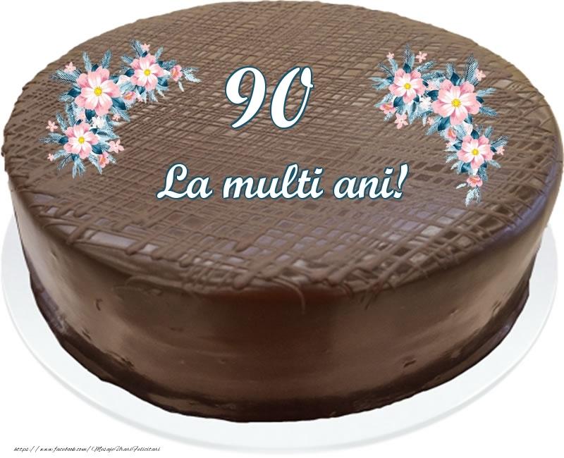 90 ani La multi ani! - Tort