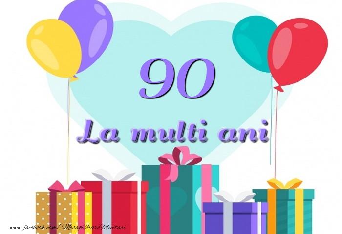90 ani